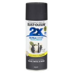 Rust-Oleum® 2X Ultra Cover: Flat Black - Aerosol