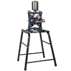 Iwata 2Spray Double Diaphram Pump on Stand