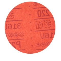 3M™ 01142 Hookit™ Red Abrasive Dust Free Disc 150mm 7H: P220